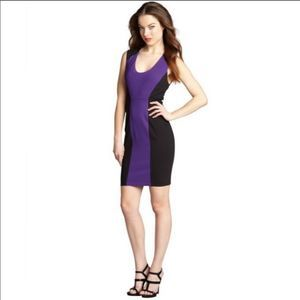 Robert Rodriguez Colorblock Scoop Neck Dress